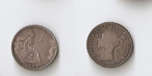 UK(Great Britain) 4 PENCE (Groat) 1842