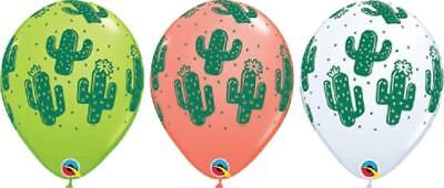 10 PC Cactus Latex Balloons (10) Mexican FIESTA Taco Pinata Party FREE - Taco Pinata