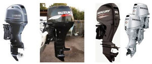 Wanted: 40 or 50 hp four stroke outboard