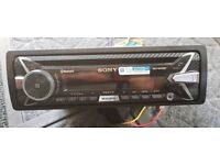 Sony Bluetooth Audio CD stereo