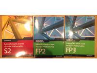 Edexcel Further Pure Maths FP3 FP2 annd As/A Modular Maths S2 Brand new £10 each