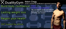 Personal training from £20