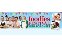 BRIGHTON HOVE LAWNS FOODIES FESTIVAL - Events Experience, Volunteers wanted!!!!!