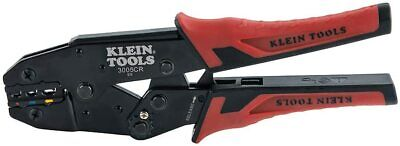 Klein Tools 3005cr Ratcheting Insulated Terminal Crimper For 10 To 22 Awg Wire