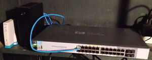 HP Procurve 2520G 24 port gigabit managed switch $200obo