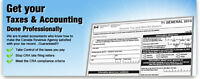 Income Tax Returns Personal $20 per return includes Free netfile