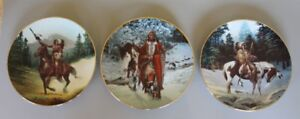 Set of 3 Collector Plates - The Last Warriors