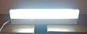 FLUORESCENT LIGHT ASSEMBLY with on/off switch
