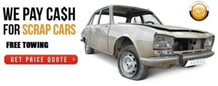 WE BUY DAMAGED AND SCRAP CARS, VANS & UTES FOR CASH Fairfield Fairfield Area Preview