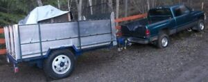 Utility Trailer with Military Grade Rockwell Axles