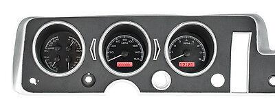 Dakota Digital 68 Pontiac GTO Lemans Tempest Analog Dash Gauges VHX-68P-GTO-K-R