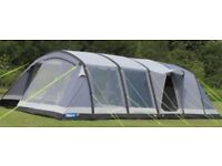 Kampa Croyde 6 Air Tent with pump