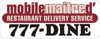 Delivery Driver for Mobile Maitre d'