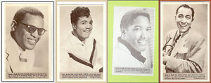 Four Rock and Roll Trading Cards Vintage Music Memorab