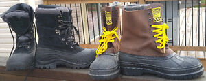 2 Winter Steel Toed Work Boots