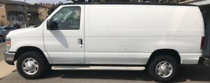 2011 Ford E-250 Cargo Van 39,000 Km Negotiable