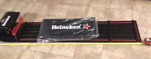 Heineken wood sled perfect for mancave new!!
