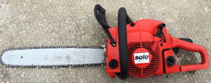 German Made Solo 636  18 inch Chainsaw SEE VIDEO
