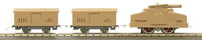 LIONEL MTH O GAUGE TINPLATE 214 Armored Motor Car Outfit U.S Army MIB 11-6069-0