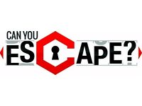 Games Masters wanted for an award winning escape game