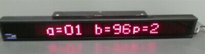 Electronic Display Led Sign Scrolling Board 5d050-l165-n-sr Programmable 3