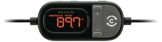 NEW Belkin Tunecast Auto Scan Universal FM F8Z439 Transmitter