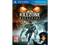 Killzone Mercenary PS Vita game