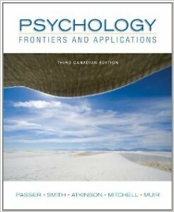 Psychology - Frontiers and Applications 3rd Canadian Edition London Ontario image 1