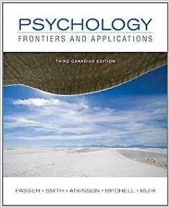 Psychology Frontiers and applications - 3rd edition