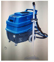 Vacuums. Carpet Extractor. and Waste Binsw/wheels for sale