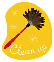 Let ME clean for YOU!!