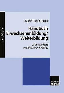 Handbuch Erwachsenenbildung/Weiterbildung von Rudolf Tip... | Buch | Zustand gut