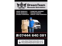 DREAMTEAM REMOVALS AND MAN AND VAN SERVICES