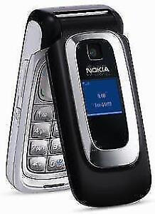 NOKIA 6086 ROGERS CHATR FLIP FLOP CELL PHONE CELLULAR REPLACEMENT HSPA 3G GSM CAMERA VGA RADIO BLUETOOTH TALK TIME 5HRS