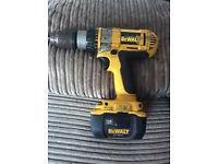 dewalt cirdless drill screwdriver 1.8 v