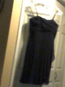junior bridesmaid navy dress
