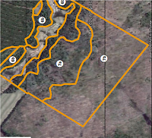50 acre hunting lot for rent for upcoming deer season zone 10W