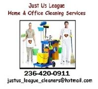 Just Us League Home & Office Cleaning Services