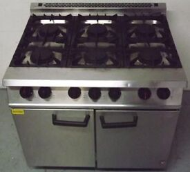 Falcon 6 Ring Gas Cooker and Oven Hire/Buy over 4 Months using Easy Payments