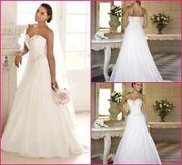 Boutique de Robe de mariee NEUVE - Ligne A en Chiffon