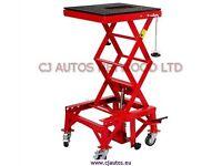 Motor Bike Hydraulic Work Bench Table