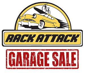 GARAGE SALE @ RACK ATTACK VAUGHAN!!