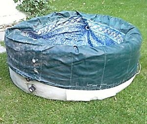 SOFTUB 4 PERSON HOT TUB - FOR PARTS OR REPAIR