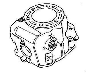 2001 CR250 Cylinder