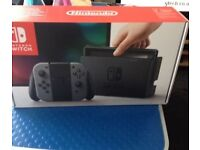 Brand new unopened and unused Nintendo Switch in Grey - SOLD OUT EVERYWHERE