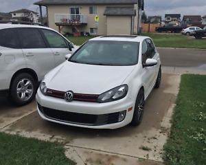 2013 Volkswagen GTI automatic DSG with winter tires