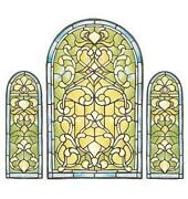 Stained Glass Decal