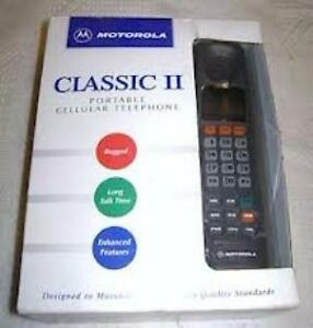 New Vintage Motorola Classic II Brick Cell Phone