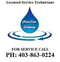Calgary Hot Tub Repair, Certified Tech