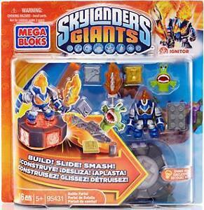 Brand New - Mega Bloks – Skylanders Giants battle packs